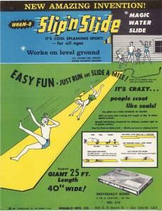 vintage slip n slide ad 961